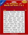 Magnetic Years 1&2 Words - Pack 1