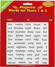 Magnetic Years 1&2 Words - Pack 2