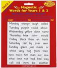Magnetic Years 1&2 Words - Pack 3