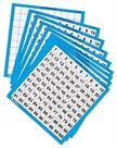 Learning Resources Wipe Clean Hundred Boards (Set 10)