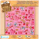 Princess Muddle Puzzle 22pcs