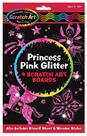 Princess Pink Glitter Scratch Art