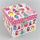 Floss & Rock Glittered Fairy Palace Jewellery Box