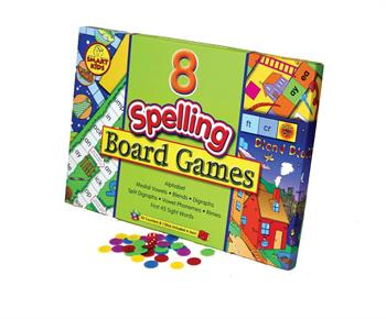 Smart Kids Eight Spelling Board Games