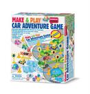 4M Make and Play Car Adventure Game