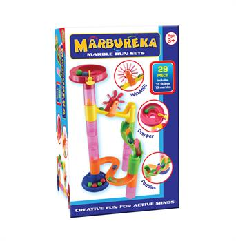 Cheatwell Marbureka Marble Run 29pcs