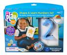Learning Resources Playfoam Shape & Learn Number Set