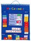 Fiesta Crafts Blue Wall Hanging Calendar