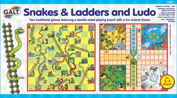 Galt Snakes and Ladders & Ludo