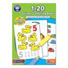 Orchard Toys 1-20 Colouring Book