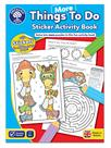 Orchard Toys More Things To Do Sticker Colouring Book