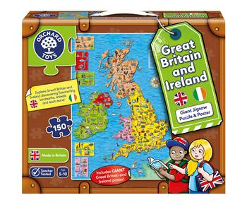Orchard Toys Great Britain & Ireland Map