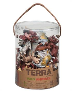 Battat Terra Wild Animals 60 Pcs