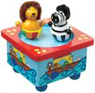 Orange Tree Toys Noahs Ark Music Box