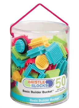 Bristle Blocks Basic Builder Bucket (50 pieces)