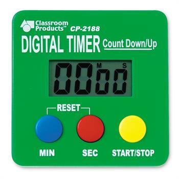 Learning Resources Digital Timer Count Down-Up