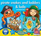 Orchard Toys Pirate Snakes & Ladders & Ludo