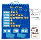 Fiesta Crafts Blue Hanging Star Reward Chart