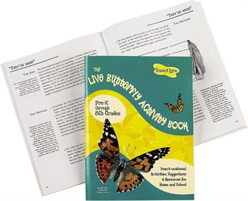 Insect Lore Butterfly Activity Book