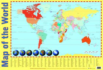 Play Break Geography Wallchart Pack