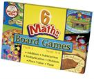 Smart Kids Six Maths Board Games - Pack 1
