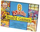 Smart Kids Six Maths Board Games - Pack 2