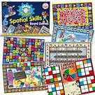 Smart Kids Six Spatial Skills Visual Memory Board Games
