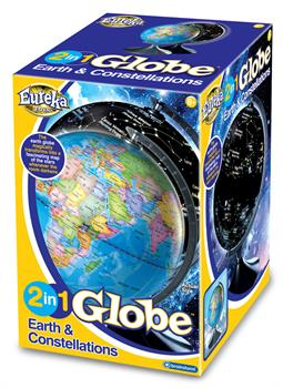 Brainstorm Toys 2 in 1 Globe - Earth and Constellations