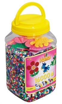 Hama Beads/Pegboards Tub Craft (Yellow) 16,000